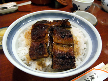 うなぎ丼(4切れ)