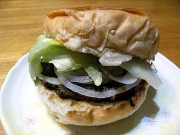 レストハウス春菜 ハンバーガー