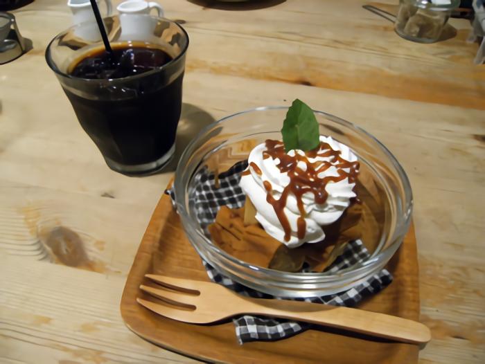 ORANGE SPICE(オレンジスパイス) キャラメルチーズケーキセット