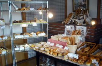 花ぞのパン工房 店内