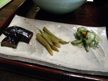 四季舎 地元の野菜