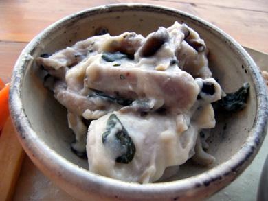 カフェユラク 里いもときのこの玄米クリーム煮