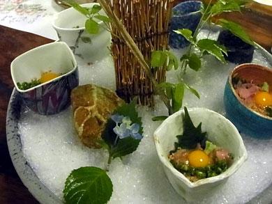 ryusensou-ユッケ風鯉の珍味