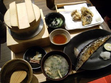 gokoku-五穀旬采定食