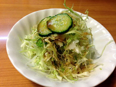 korokke-サラダ