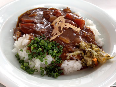 nagasaki-牛肉と野菜の煮込みカレー