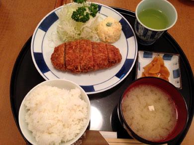 taishotei-メンチカツ定食