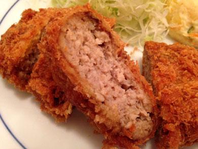 taishotei-メンチカツ定食2