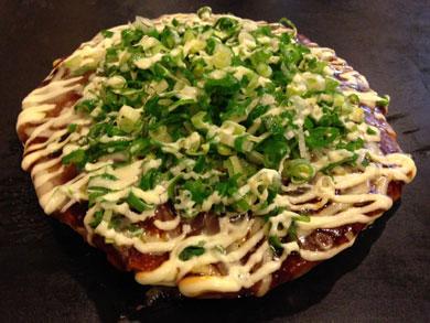 yuzu-ネギ焼のモチチーズ玉