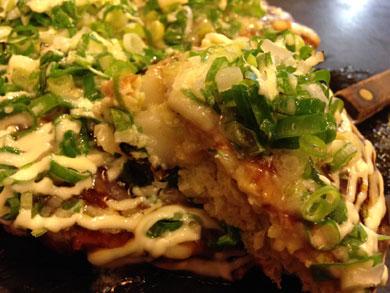 yuzu-ネギ焼のモチチーズ玉2