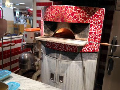 pastatopizza-石窯