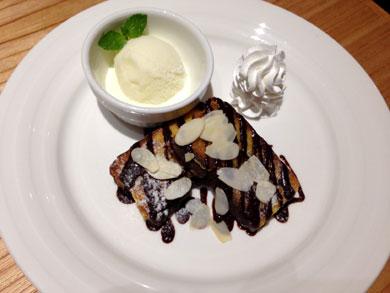 cafebridge-カステラフレンチトースト