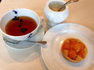 camille-きんかんタルトと紅茶