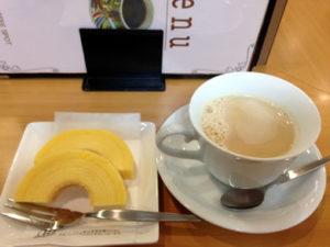 kyowascoffee-カフェオレと焼き菓子