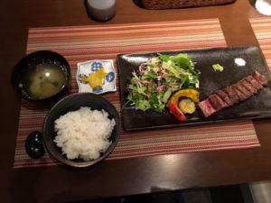 mansai-熟成ステーキセット