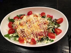 wajyu-ベーコンエッグサラダ