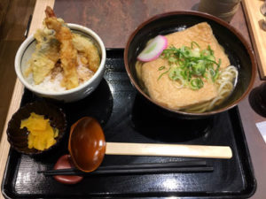 dondontei-ミニ天丼セット