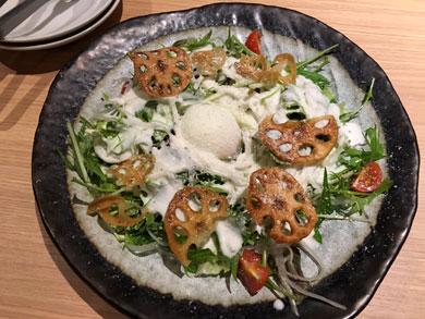 torigen-パリパリれんこんのサラダ