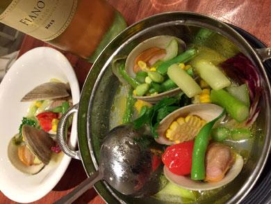 babar-白ワイン蒸し