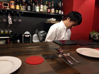 Italian Bar Le Ali(レ・アーリ)店内