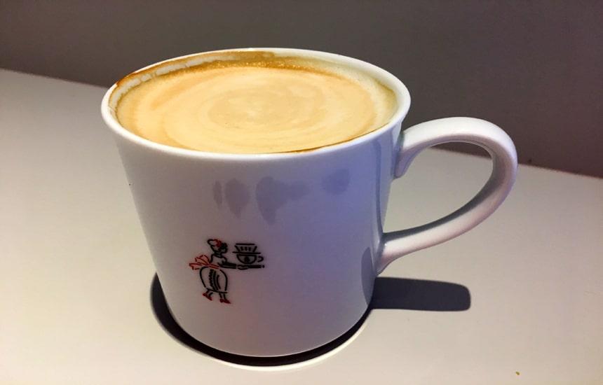 ツルさんのコーヒー カフェラテ