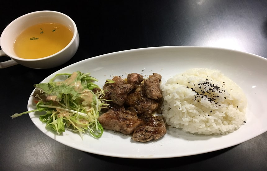 肉吉 サイコロステーキ