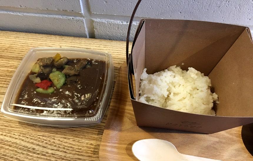 葉山珈琲 カレー2