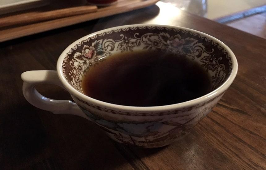 つむぎや コーヒー