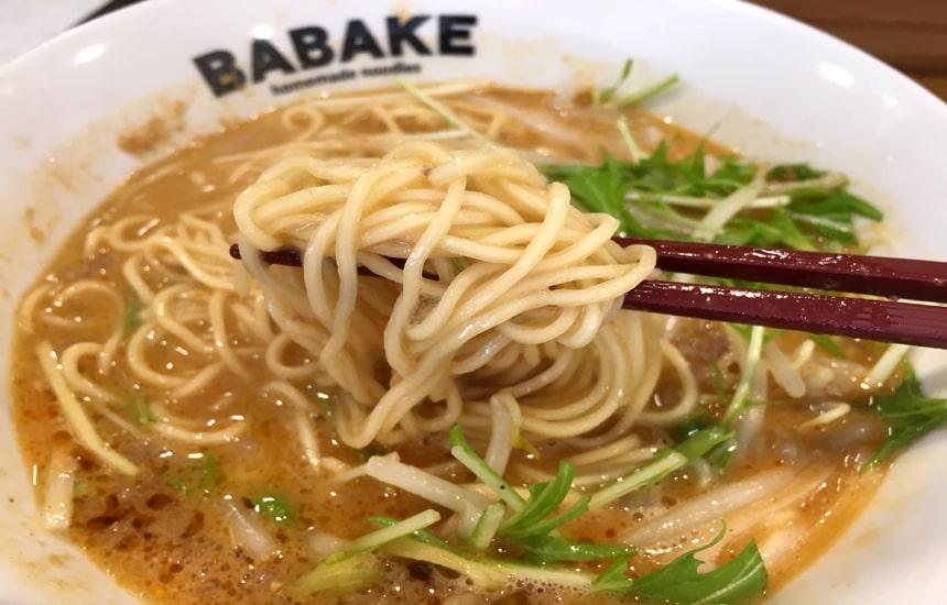 BABAKE興善町店 担々麺4