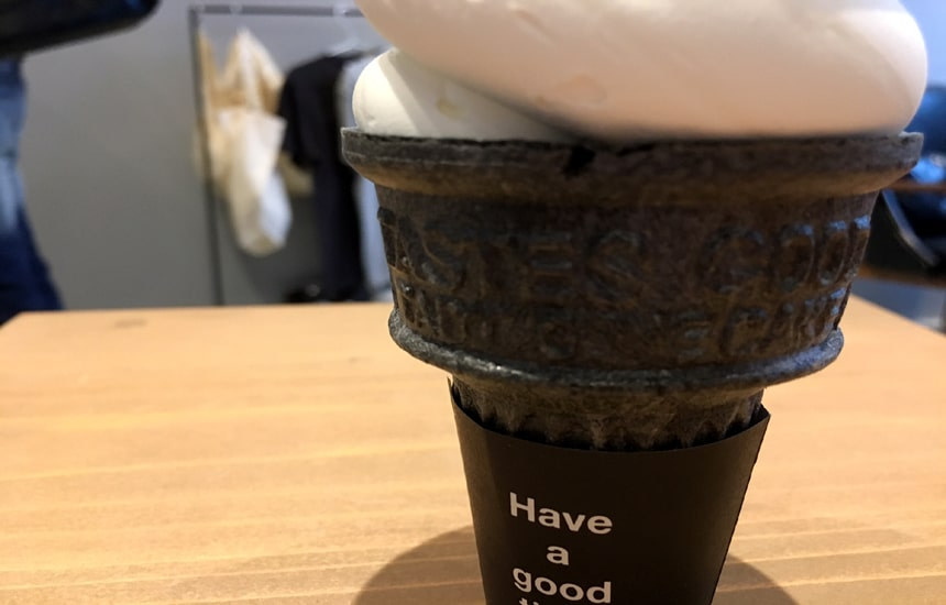 大名ソフトクリーム ミルククリーム3