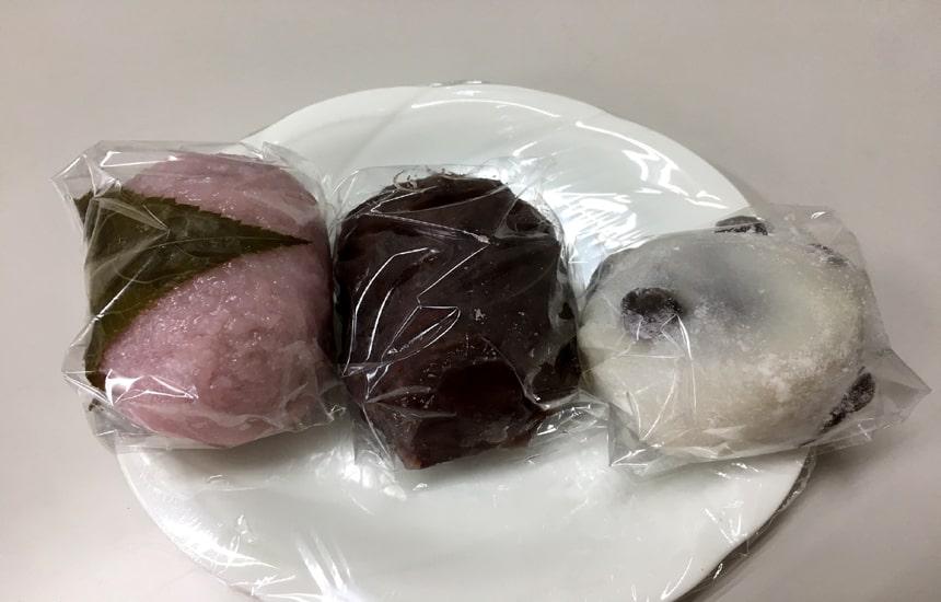つづみ団子 桜餅2