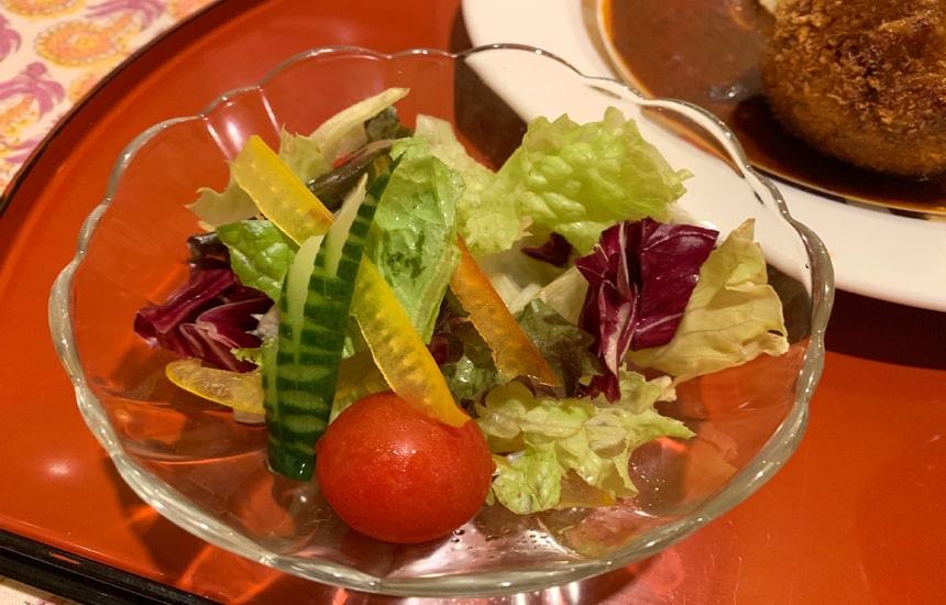 にんにくや サラダ