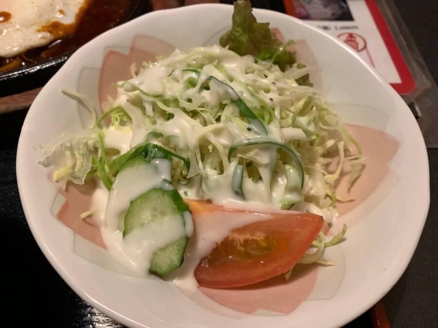 萬亭 サラダ