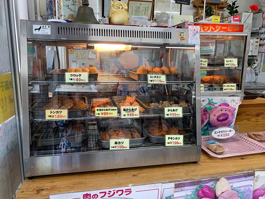 肉のフジワラ 店内