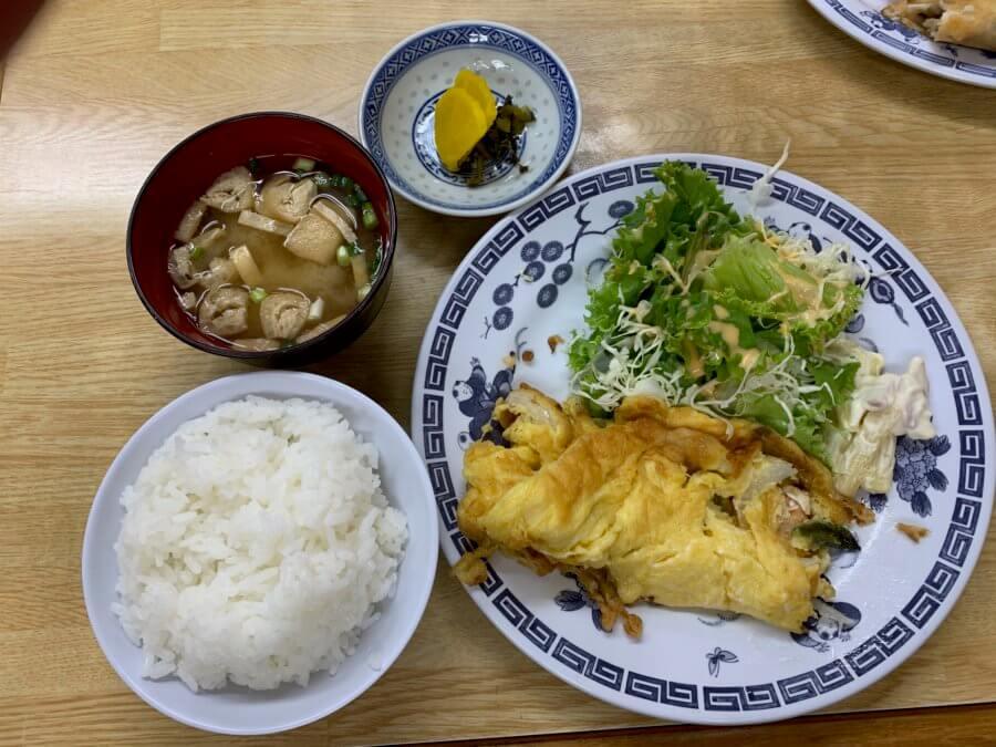 taikahanten-エビ玉定食