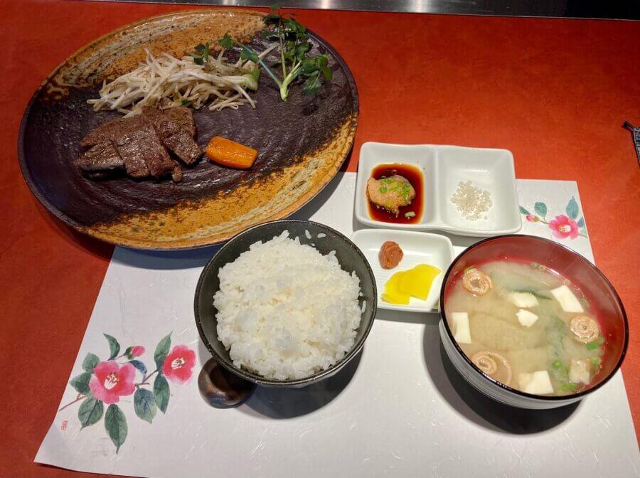 aki-ビーフステーキセット