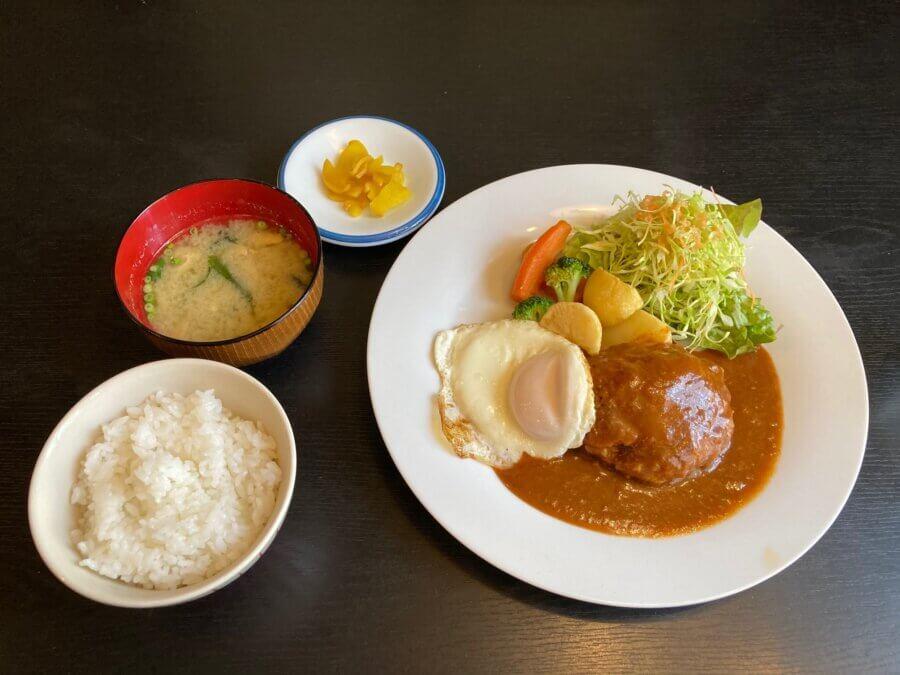 takeshita-ハンバーグ定食