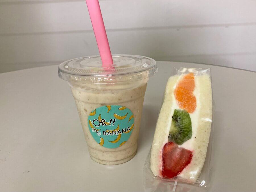 ohmybanana-超濃厚バナナとフルーツサンド